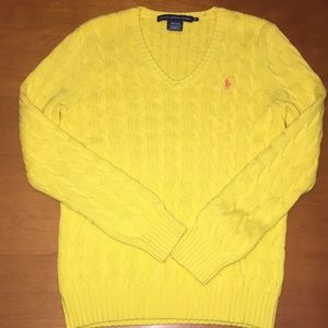 Ralph Lauren Polo Sport v-neck sweater XL